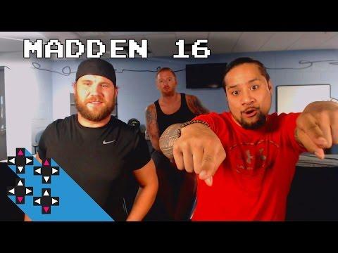 Curtis Axel Battles Uce In Round 1 (Madden 16 Tournament) — Gamer Gauntlet
