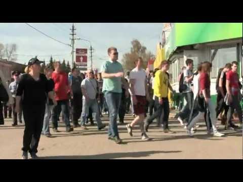 Митинг Где дороги? в Павловском Посаде