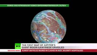 NASA unveils maps of Jupiter