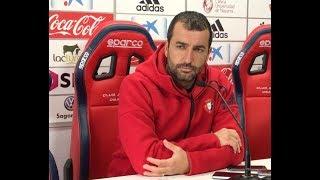 Previa Diego Martínez. Córdoba-Osasuna