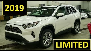2019 Toyota Rav4 Limited AWD Review of Features and Full Walk Around
