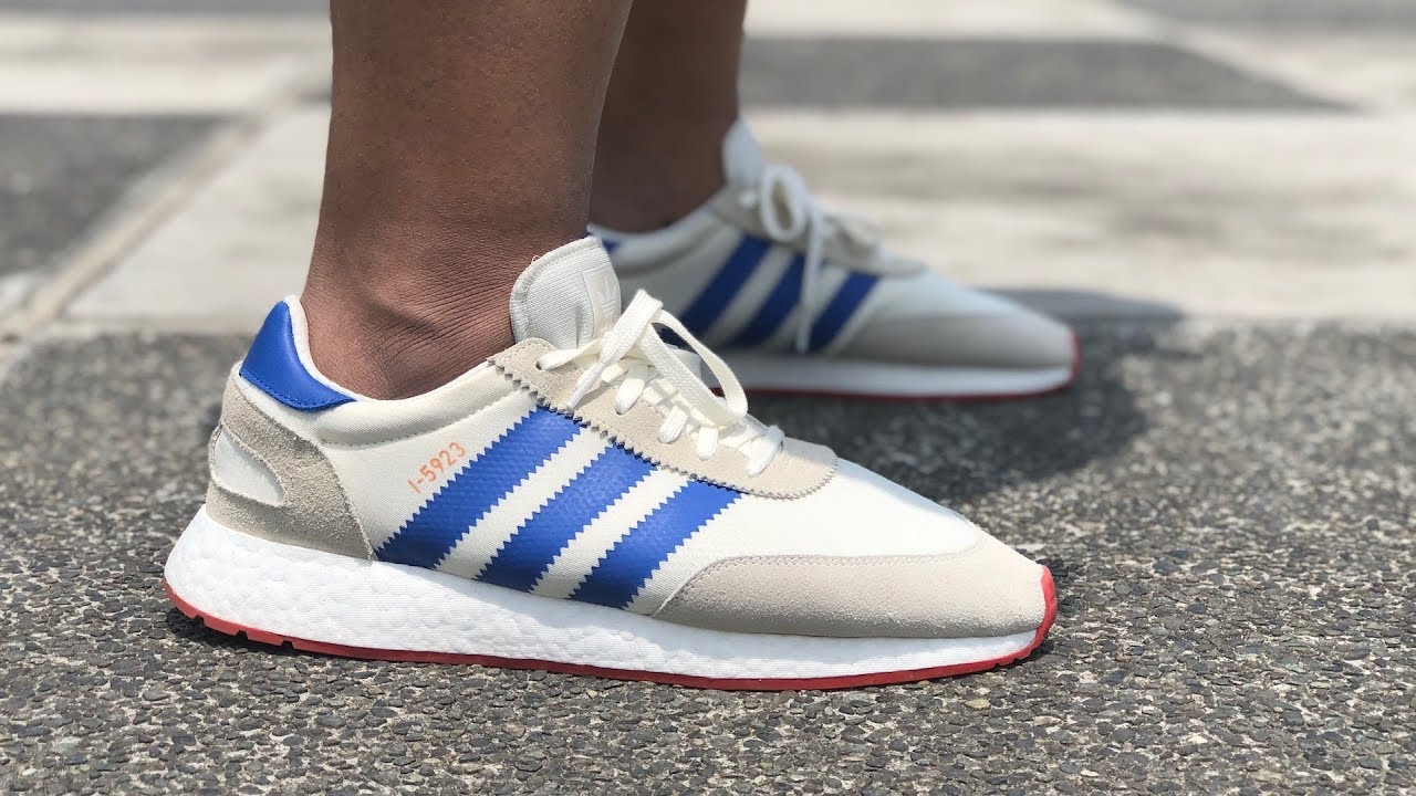 purchase cheap d9476 9315e adidas I-5923 (Iniki) Pride of the 70s On-Feet Review Better than NMD,  EQT