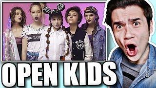 Реакция на Open Kids - На Радостях (клип)