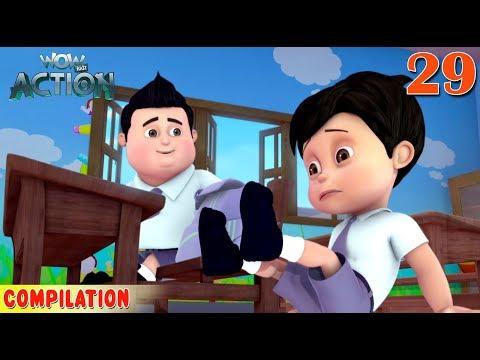 Vir : The Robot Boy | Vir Action Collection - 29 | Action series | WowKidz Action