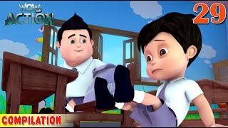 Vir : The Robot Boy | Vir Action Collection - 29 | Action series | WowKidz Action