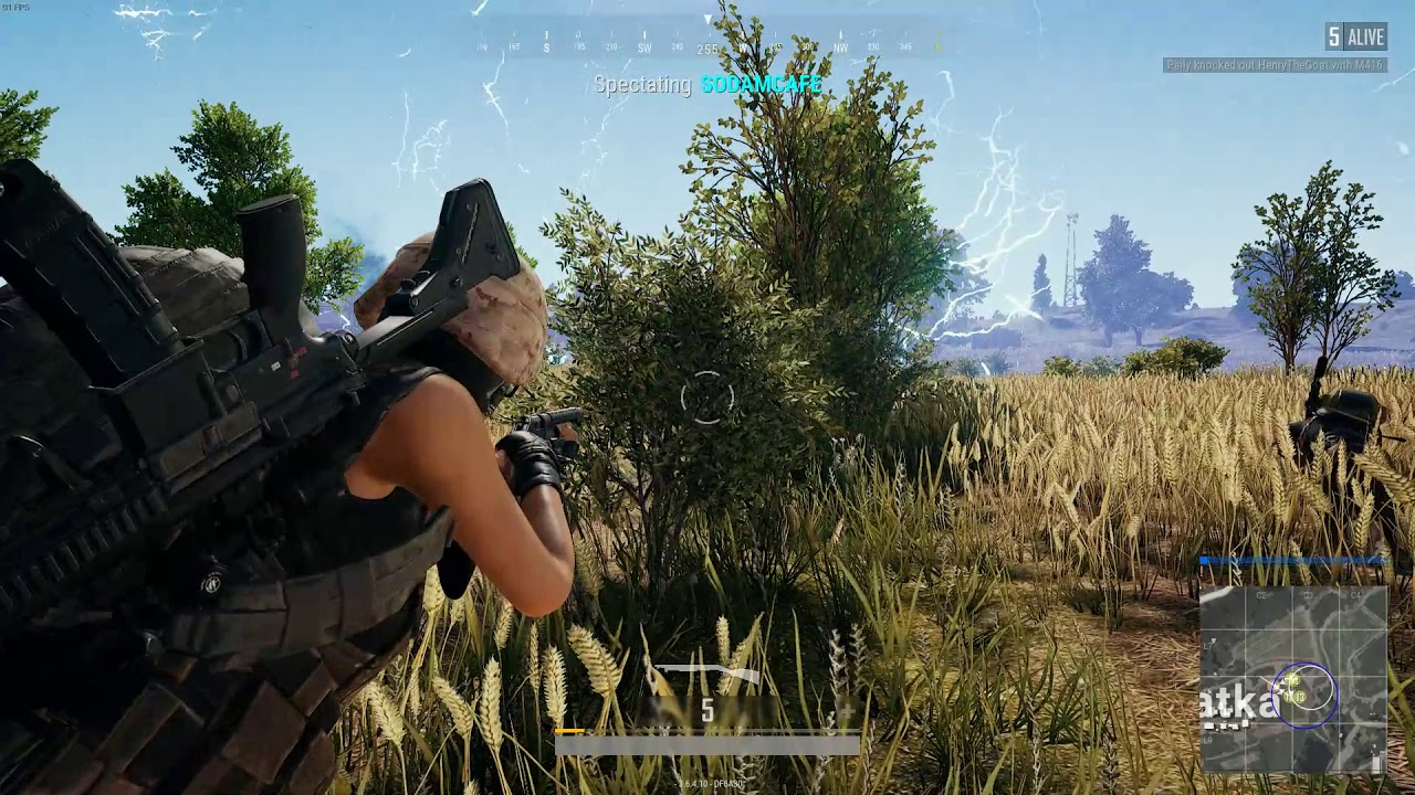 PUBG - Quick Revive Hack in Action