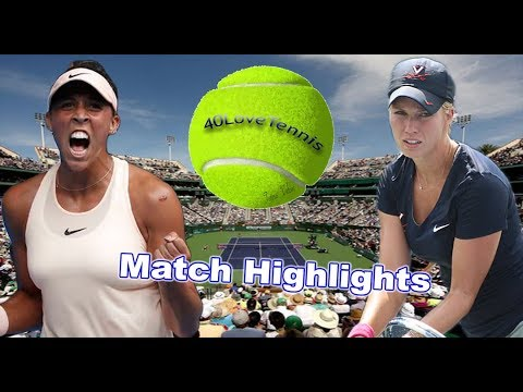 Madison KEYS vs Danielle COLLINS INDIAN WELLS 2018 R2 Highlights HD