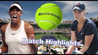 Madison KEYS vs Danielle COLLINS INDIAN WELLS 2018 R2 Highlights HD