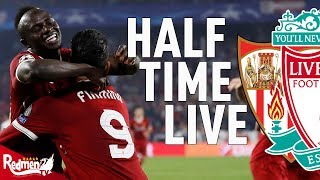 Firmino and Mane Give Reds the Lead! | Sevilla 0-3 Liverpool | Half Time LIVE