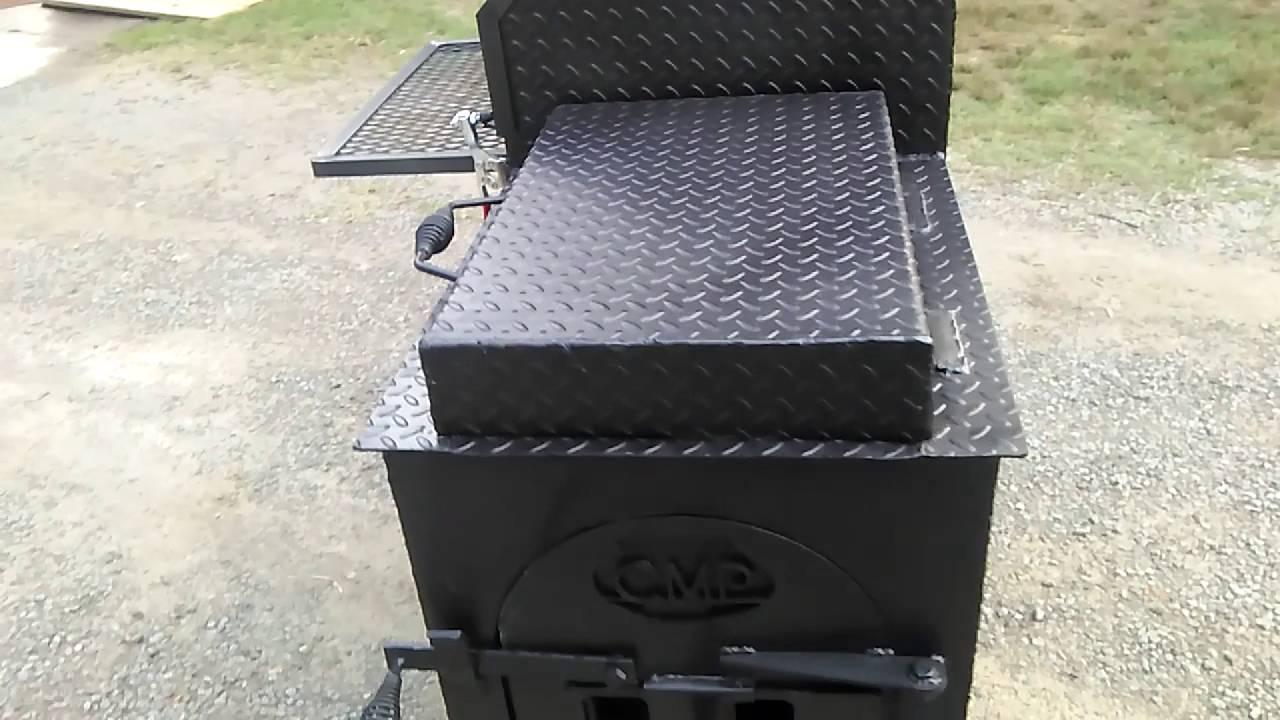 custom metal projects backyard competition smoker youtube