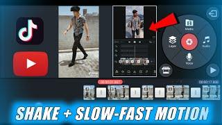 🔥PERFECT SHAKE + SLOW-FAST MOTION TRANSITION TUTORIAL | TIKTOK SHAKE EFFECT | SLOW MO TUTORIAL APP screenshot 4