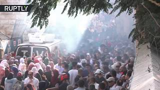 56 Palestinians injured in clashes after 1,000s attend mosque in Jerusalem – Red Crescent