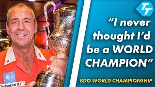 Wayne Warren on 'UNBELIEVABLE' feeling of becoming BDO World Champion | Post match interview