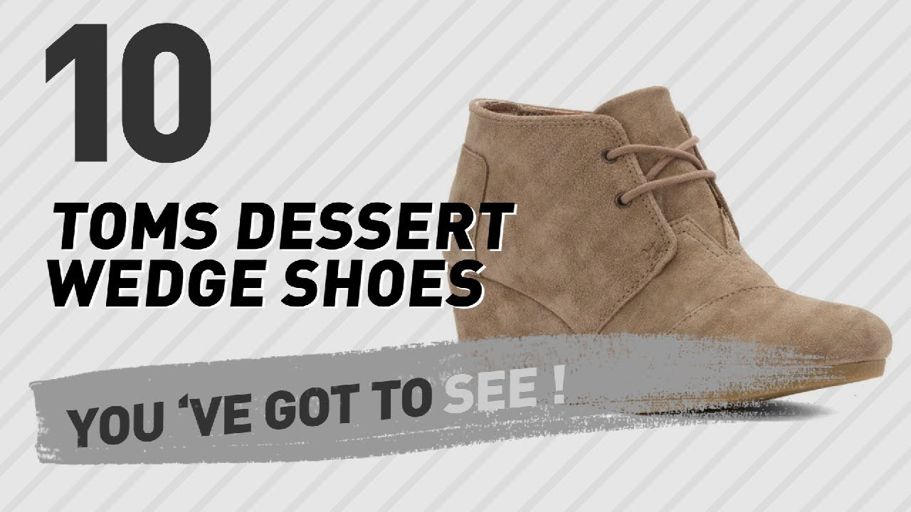 50090285649 Toms Dessert Wedge Shoes    The Most Popular 2017 - YouTube