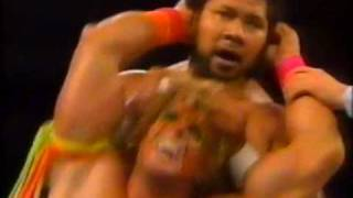 ultimate warrior vs haku snme 04 1990