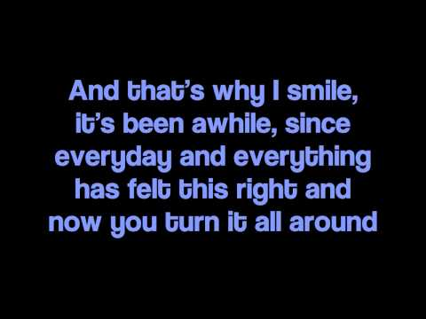 "Avril Lavigne - ""Smile"" Lyrics"