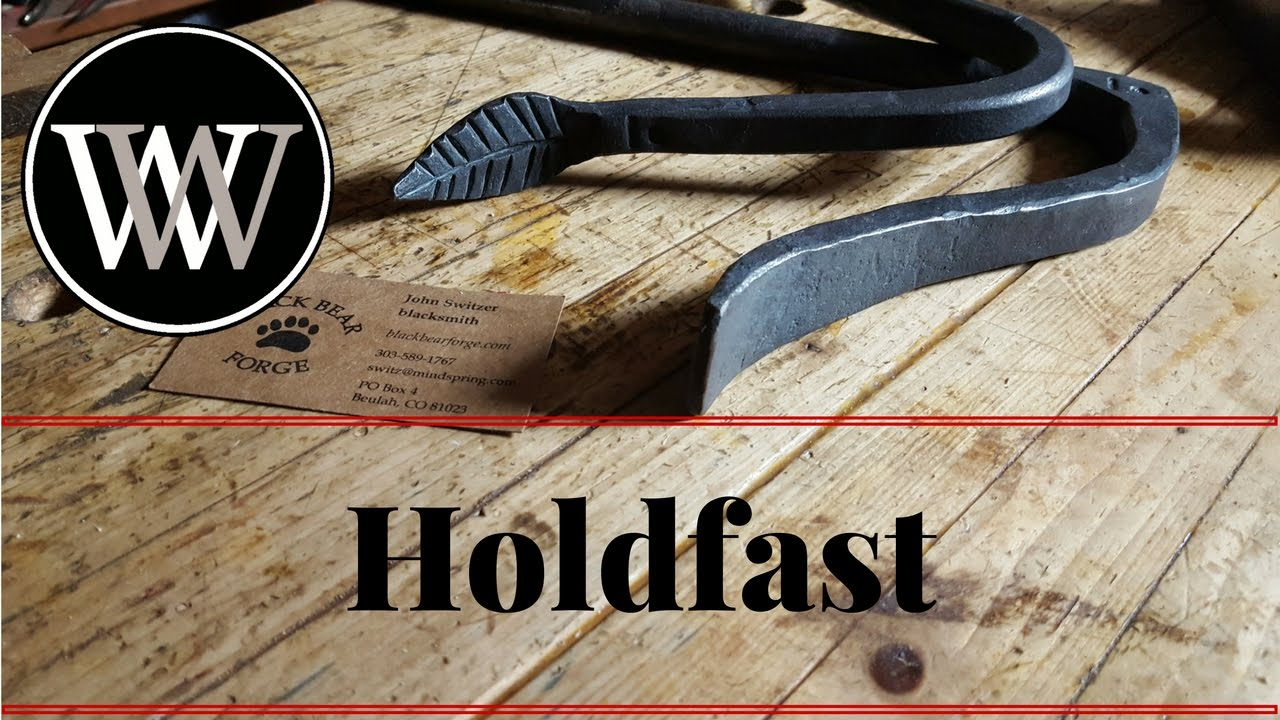 What Is A Holdfast And How To Use A Hold Fast Hand Tool For The Work Bench Youtube