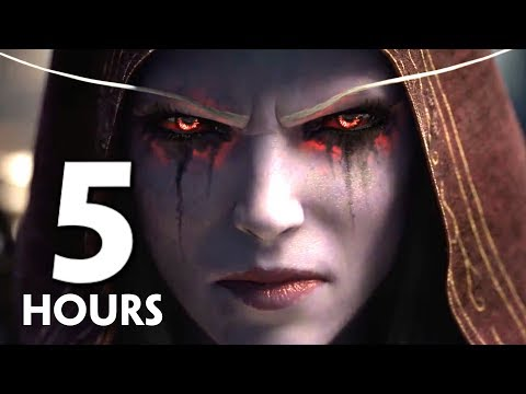 World of Warcraft: Battle for Azeroth Movie, Full Alliance & Horde Story + All Cutscenes (AT LAUNCH)
