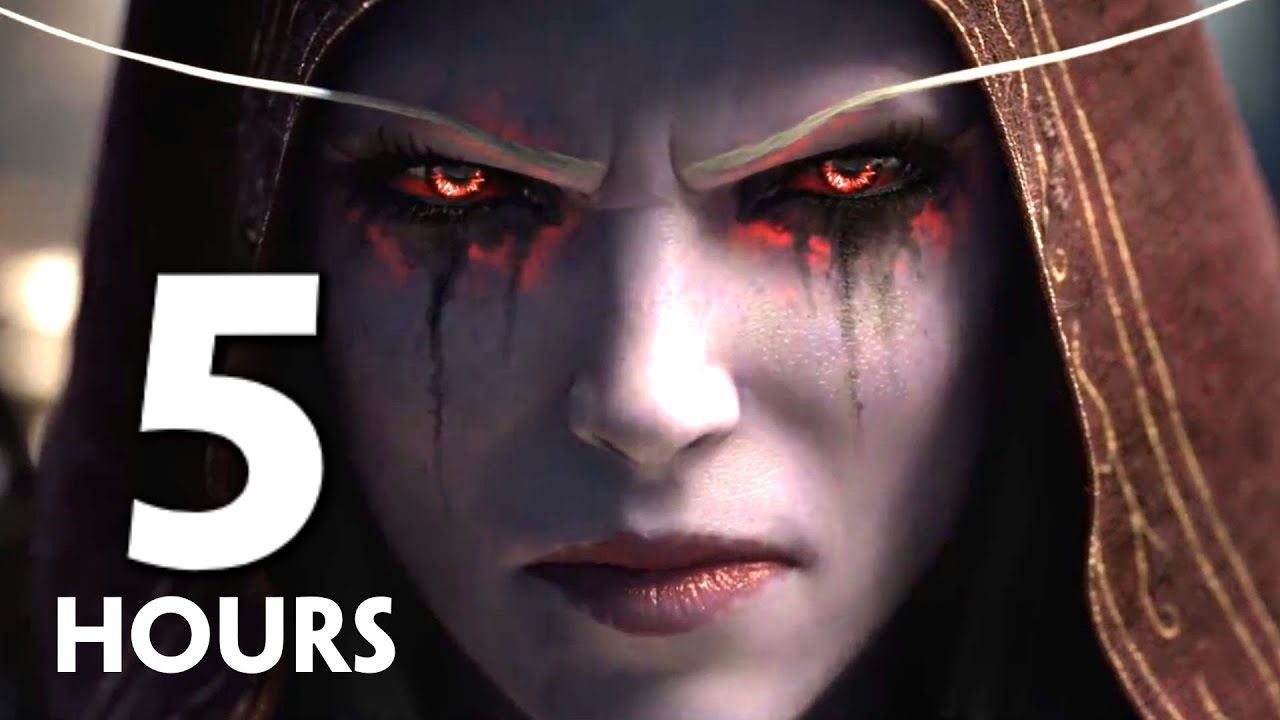 World Of Warcraft Battle For Azeroth Movie Full Alliance Horde Story All Cutscenes At Launch Youtube