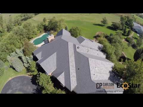 EcoStar Niagara Slate Featured on Nebraska Home