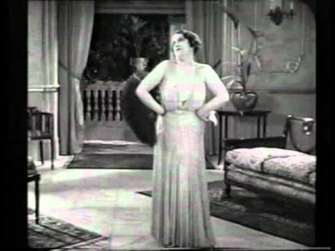 Gaiety and Music Hall star Ada Reeve in a rare early talkie short of 1932