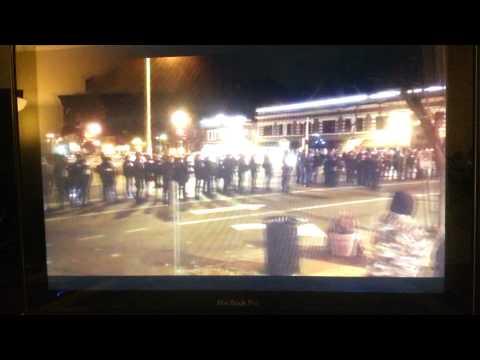 Ferguson Riots - Rubber Bullets, Tear Gas, Flash Bangs