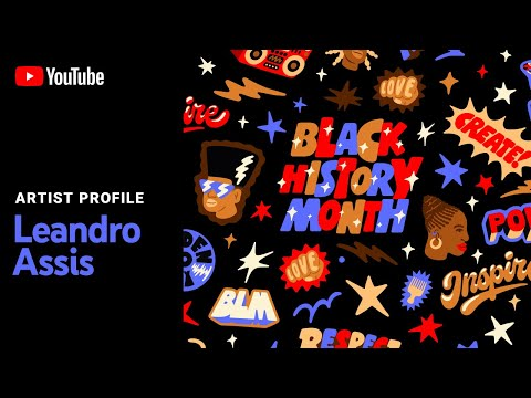 Celebrating Black Creativity with Guest Artist Leandro Assis