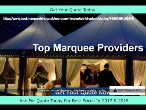 Stanley Affordable Marquee Hire