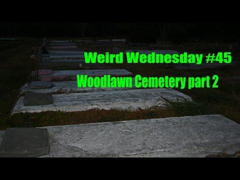 Weird Wednesday #45 A little tour of the Cemetery