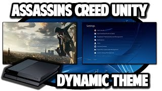 [PS4 THEMES] Assassins Creed Unity Dynamic Theme Video in 60FPS
