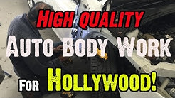 Auto Body Shop for people living in Hollywood Florida
