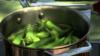 Steamed Whole Okra