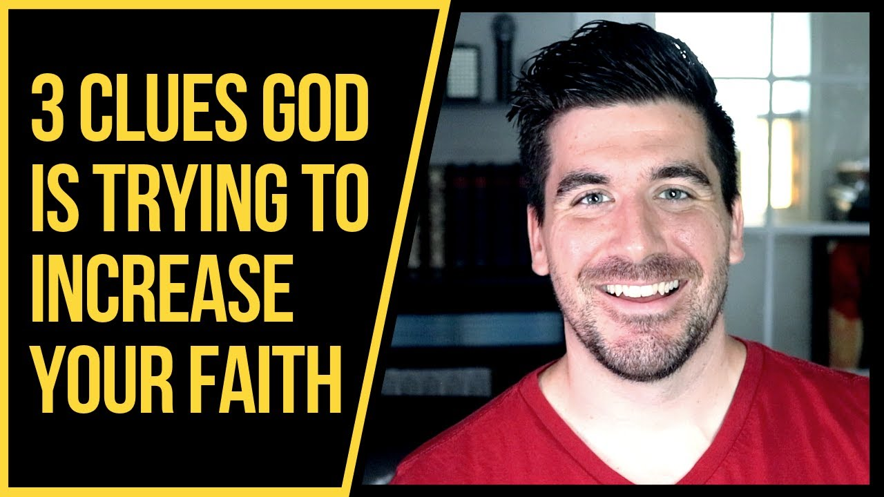 3 Signs God Is Trying to Increase Your Faith