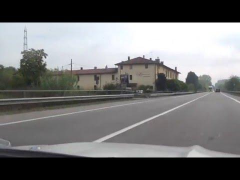 San Donato Milanese San Giuliano Melegnano SS9 Italy Italien 7.10.2015