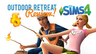 The Sims 4 Outdoor Retreat — First Impression / Review
