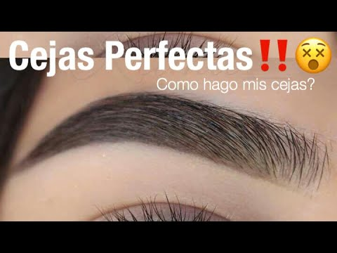 Cejas Perfectas Facil Paso a Paso | Monika Sanchez