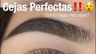 Cejas Perfectas Facil Paso a Paso | Monika Sanchez thumbnail