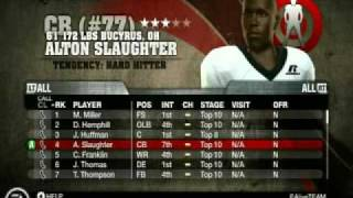 NCAA Football 10 - The Art of the Phone Call in Recruiting