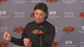 OSU Football - Mike Gundy press conference