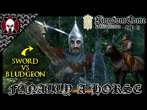 FINALLY A HORSE! AND SAVING THE DAY! [ Kingdom Come: Deliverance ] Ep 8