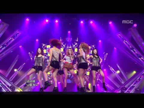 G.NA - 2HOT, 지나 - 투핫, Music Core 20120616