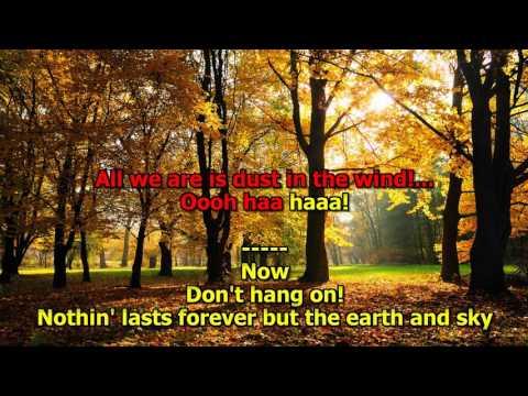Dust In The Wind - (HD Karaoke) Kansas
