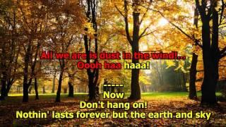 Dust In The Wind - (High Quality!) Kansas (HD Karaoke)