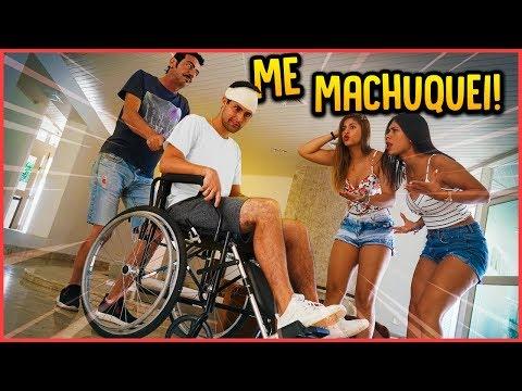 ME MACHUQUEI E PAREI NO HOSPITAL!! - TROLLANDO AMIGAS [ REZENDE EVIL ]