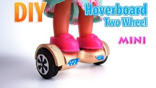 DIY Miniature Hoverboard | DollHouse | No Polymer Clay!