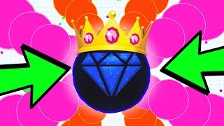 THE CELLZ.IO KING! DESTROYING NOOBS & PROS! NEW Game like AGAR.IO