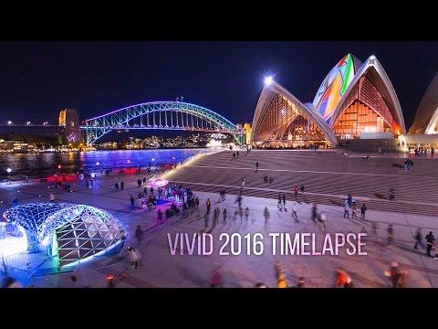 Vivid Sydney 2016 4K Timelapse film