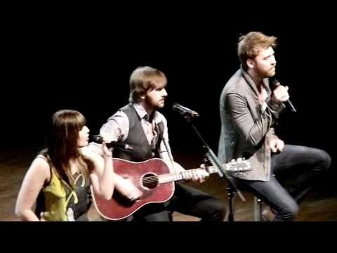 """Lady Antebellum """"Dancing Away With My Heart"""" Live Nashville 2/18/11"""