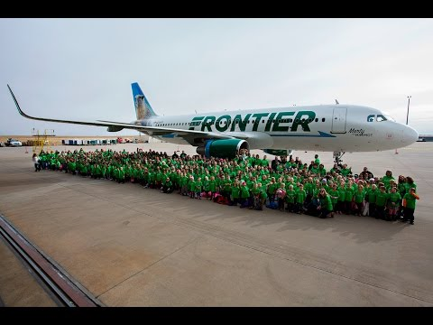 Introducing Marty the Marmot! | Frontier Airlines