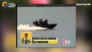 Corbeta misilera Esmeraldas canal uno 22 JUL 2015